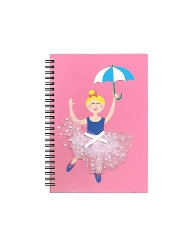 LWP Shop Flying Tiger Ballerina Defter Pembe